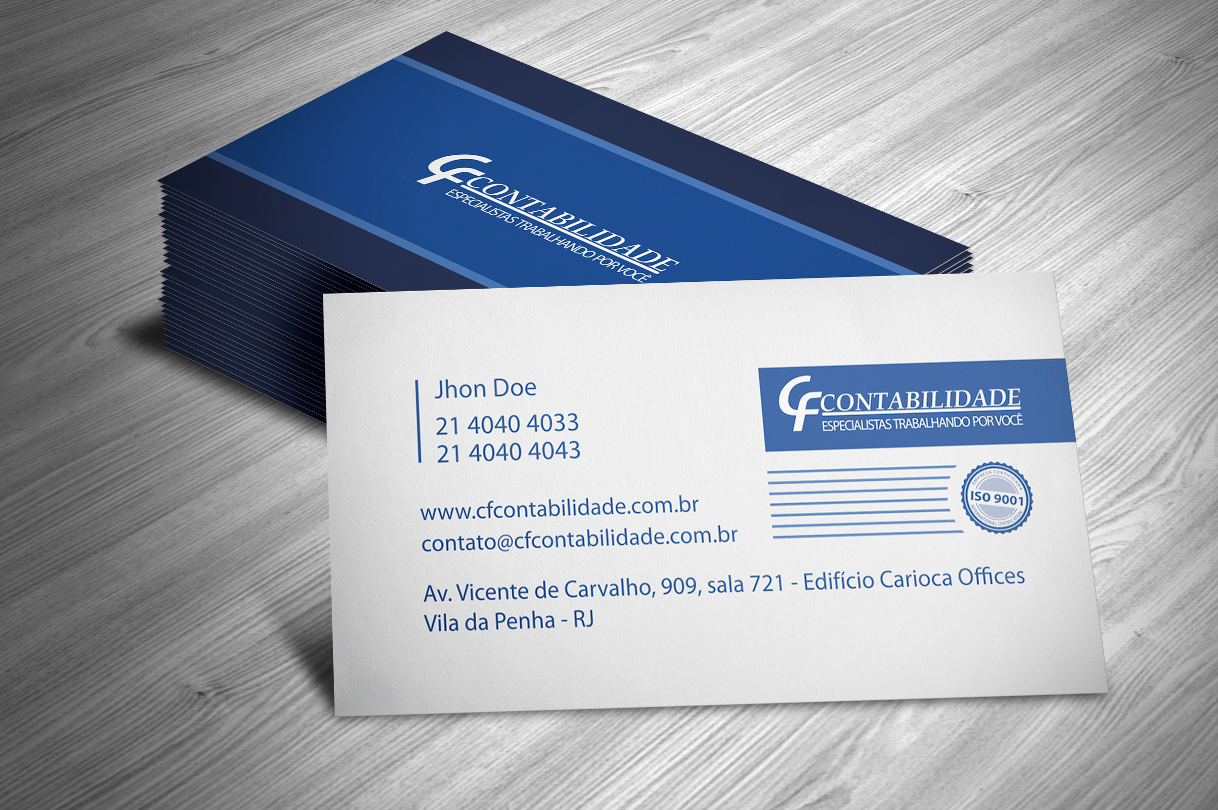 Business cards mock up2 cf contabilidade business cards mock up2 reheart Images